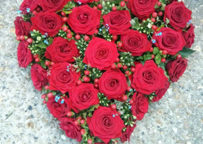 Bella-Poppy-Flower-Design-Chichester-Flowers-Florist-Wedding-Flowers-Funeral Flowers-Dried Flowers-Funeral-Red-Heart-Roses
