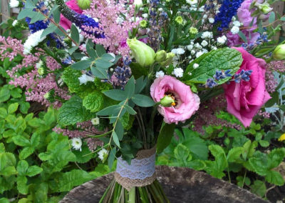 Summer Bouquet of herbs - wedding flowers