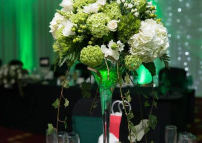 Reception table wedding flowers - wedding flowers