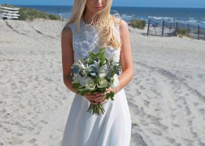 bridal ,bouquet beach wedding