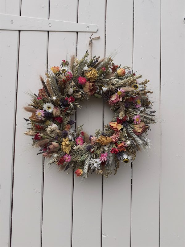 summer bright wreath